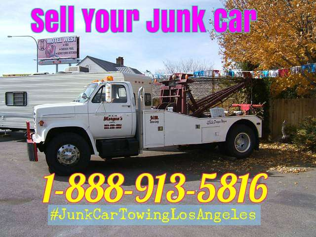 We buy junk cars trucks and vans Los Angeles